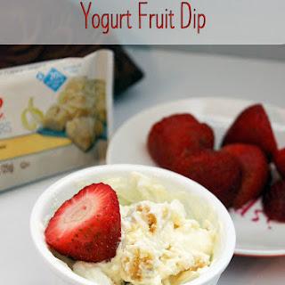 Lemon Cake Yogurt Fruit Dip.