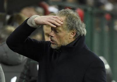 """Michel Preud'homme wou niet veel woorden vuil maken aan nieuw puntenverlies: """"Mijn mening is toch niet belangrijk"""""""