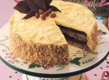 German Hazelnut Torte