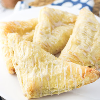 Easy Puff Pastry Apple Turnovers.