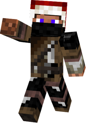 My perfect skin that I allwas wanted Ender hunter with christmas hat