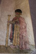 Photo: J21 : Eglise de St Maurice sur Loire, fresque de St Jacques