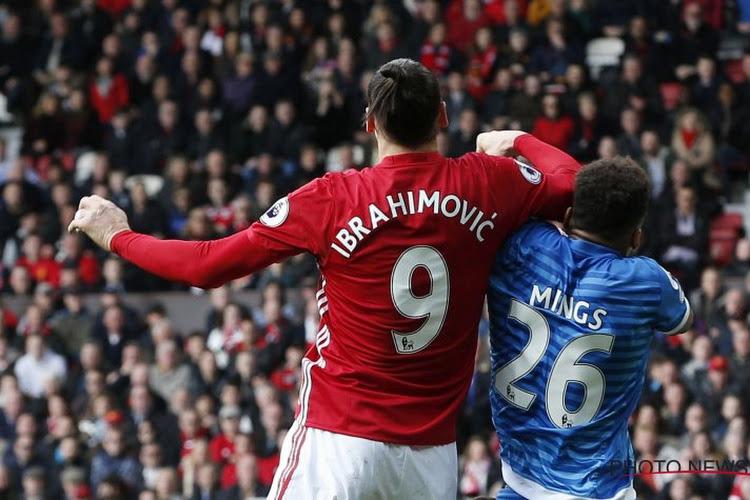 VIDEO: Elleboogstoot, kopschop, ... Wat gebeurde er allemaal tussen Ibrahimovic en Mings?