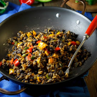 Easy Black Beans and Rice.