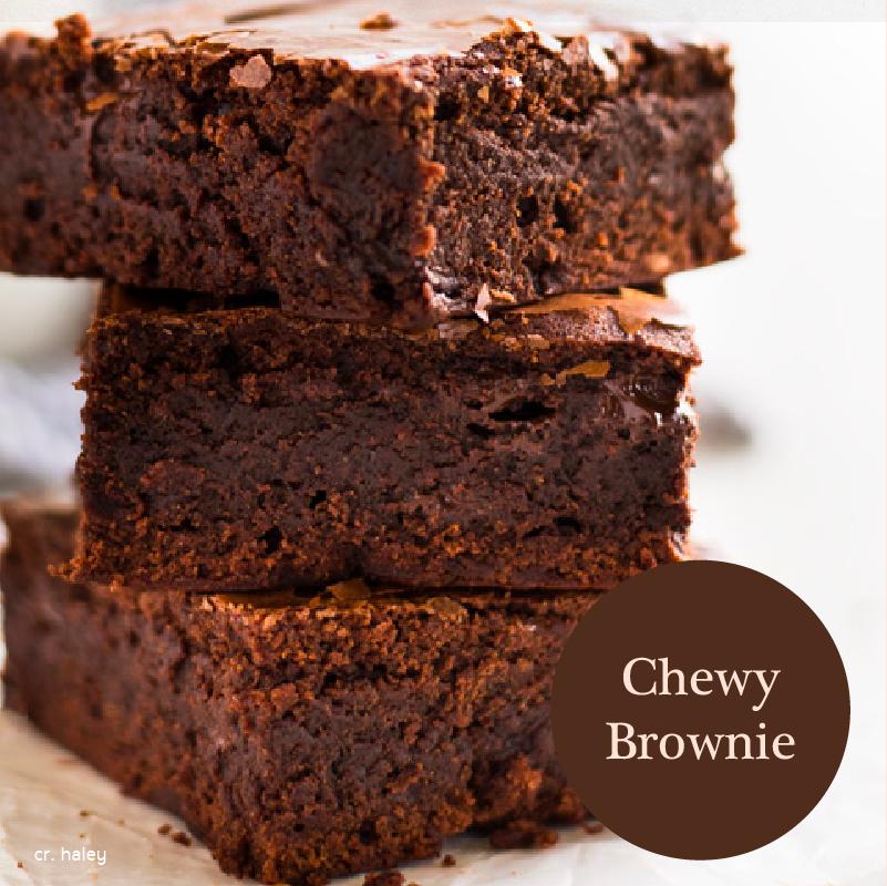 แบบที่ 3 Chewy Brownies