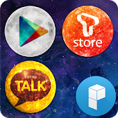 Planet Icons Launcher Theme