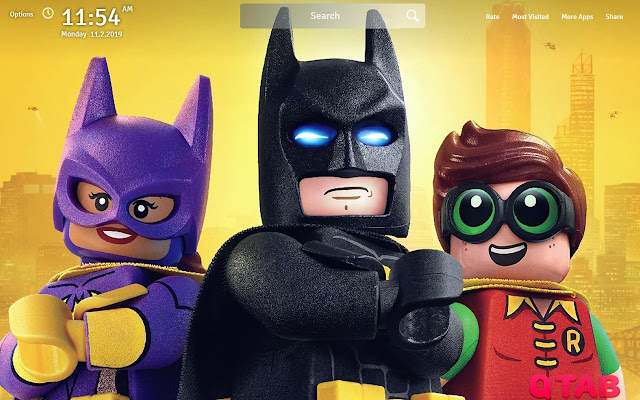 The Lego Batman Wallpapers Movie New Tab