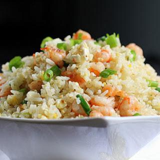 Fried Rice with Shrimp and Salty Egg (Cơm Chiên Tôm Trứng Muối)
