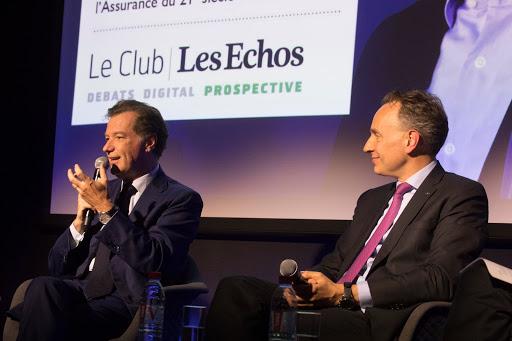 Club Les Echos Prospective avec Thomas Buberl et Laurent Mignon