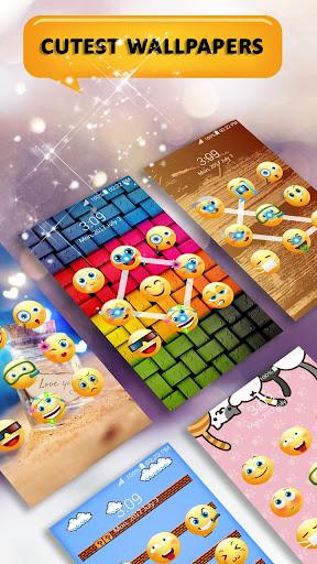 Emoji lock screen pattern 1.2.5 screenshots 5