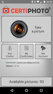 CertiPhoto - náhled