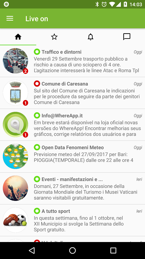 WhereApp- screenshot