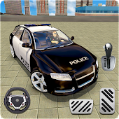 Police Car Parking Adventure 3D