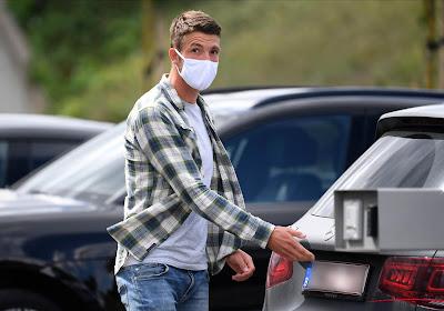 Brandon Mechele une semaine de plus en quarantaine