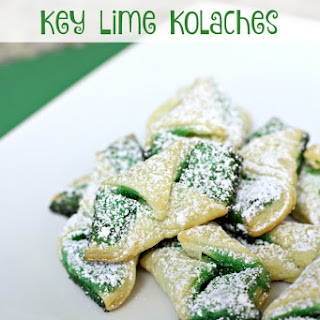 Leapin' Leprechaun Key Lime Kolaches.