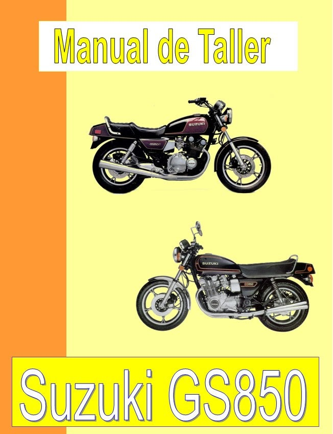 suzuki GS 850-manual-taller-despiece-mecanica