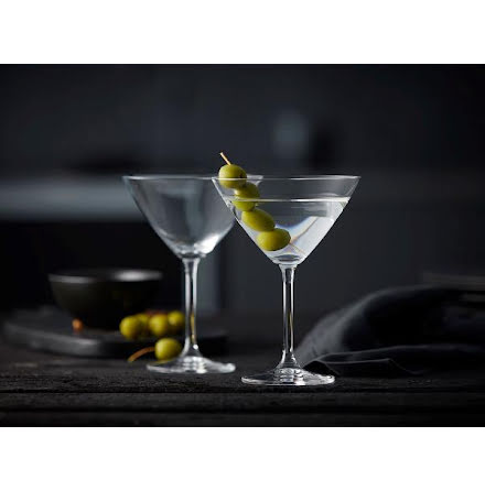 Lyngby Glas Juvel Martiniglas 28 cl 4-pack