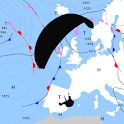Surface Pressure Charts for Paragliders - Europe icon