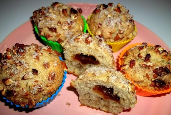 Apple Butter Filled Spiced Muffins Recipe