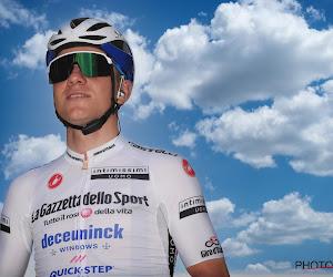 Evenepoel draagt trui Bernal en Sagan neemt over na paarse dagen Merlier: klassementen na anderhalve week Giro