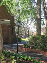 Photo: Path to the Kearsney Chapel