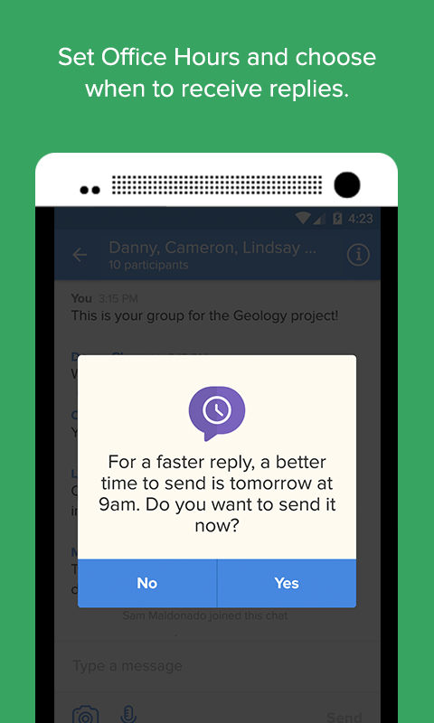 Remind: Free, Safe Messaging- screenshot
