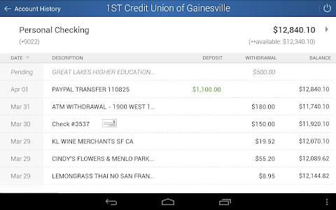 Alliance CU Mobile Banking screenshot 10