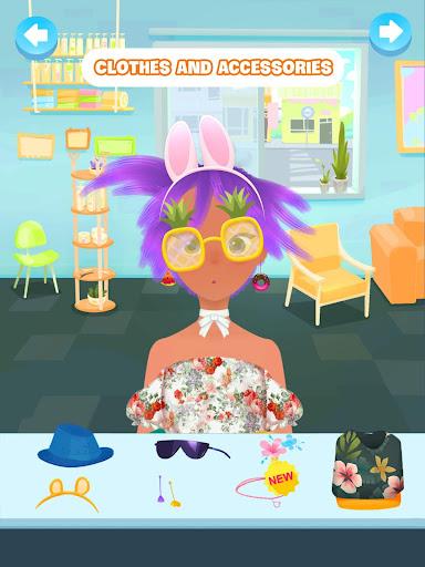 Hair salon games screenshot 11