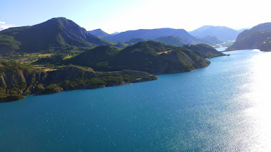 Photo: Lac de Serre Poncon https://www.youtube.com/watch?v=cXrkTpBA9vg