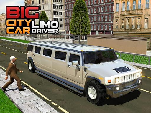 Big City Limo Car Driving Simulator : Taxi Driving 3.8 screenshots 23