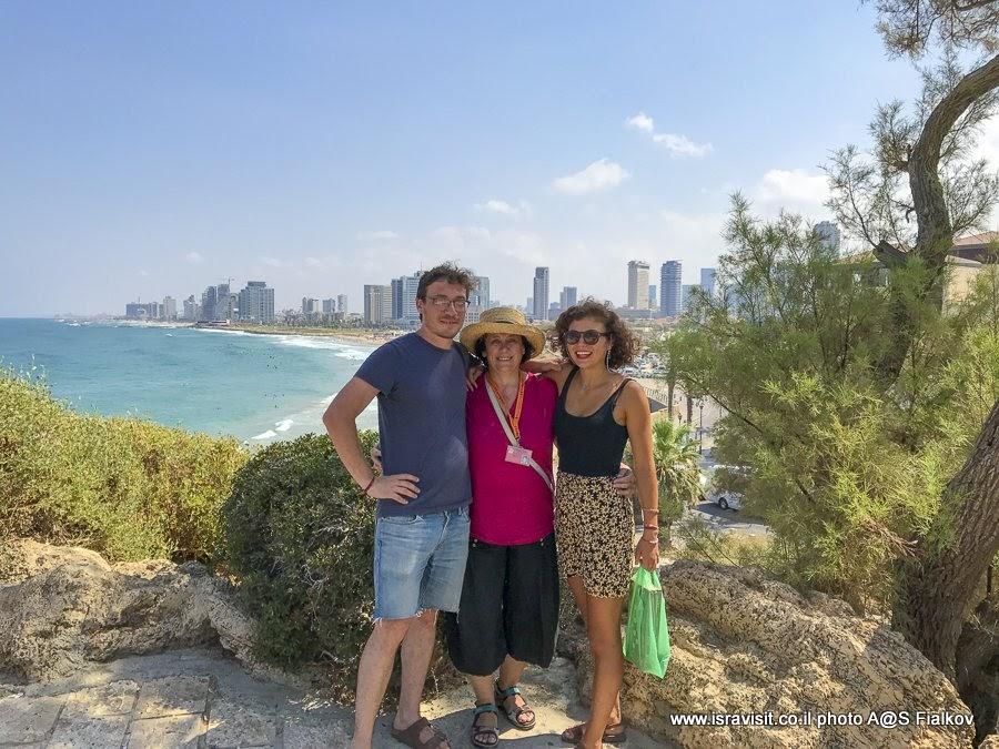 Экскурсия в Яффа с гидом в Израиле Светланой Фиалковой.