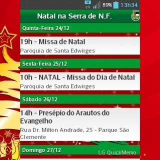 Natal na Serra 2015-N.Friburgo