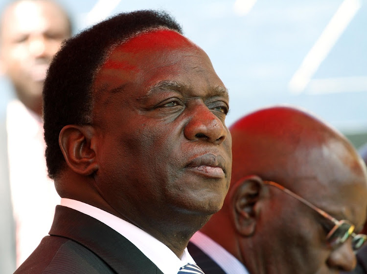 Emmerson Mnangagwa is reportedly back in Zimbabwe.