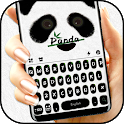 Cute Panda Keyboard Theme icon
