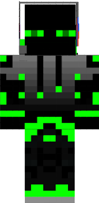 green enderman boy please download and add skin to minecraft