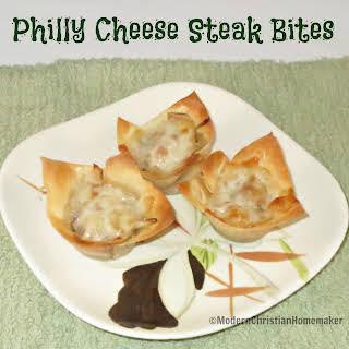 Philly Cheese Steak Bites.