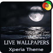 sea in the dark  | Xperia™ Theme, Live Wallpapers