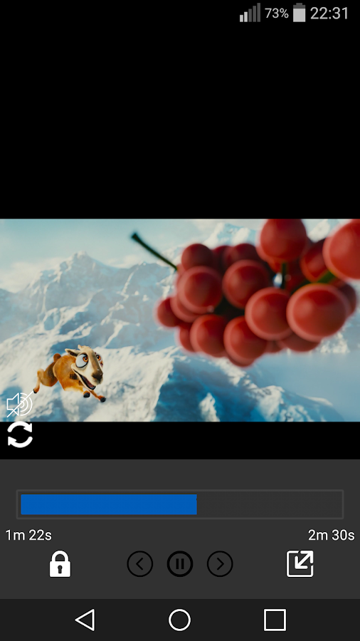 Video Player Android- screenshot
