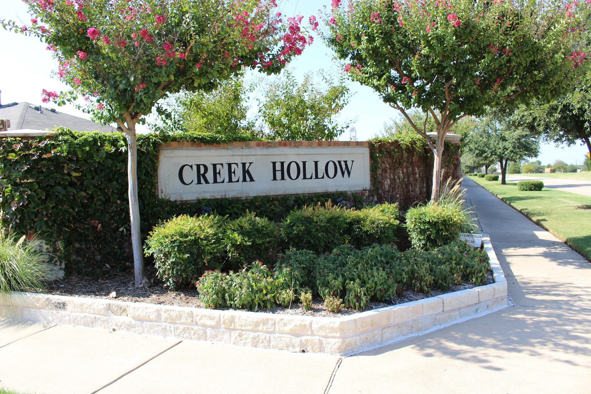 Creekhollow McKinney Entrance