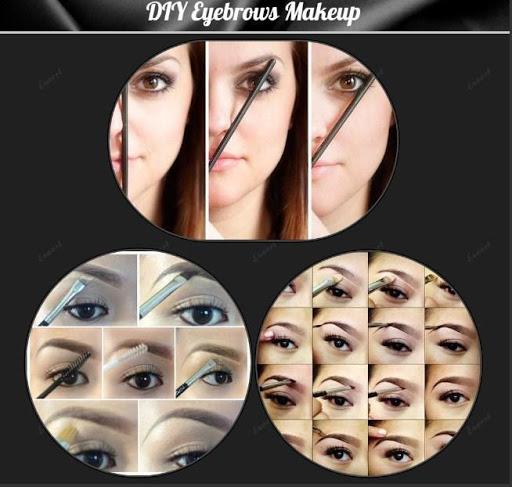 DIY化妆眉毛