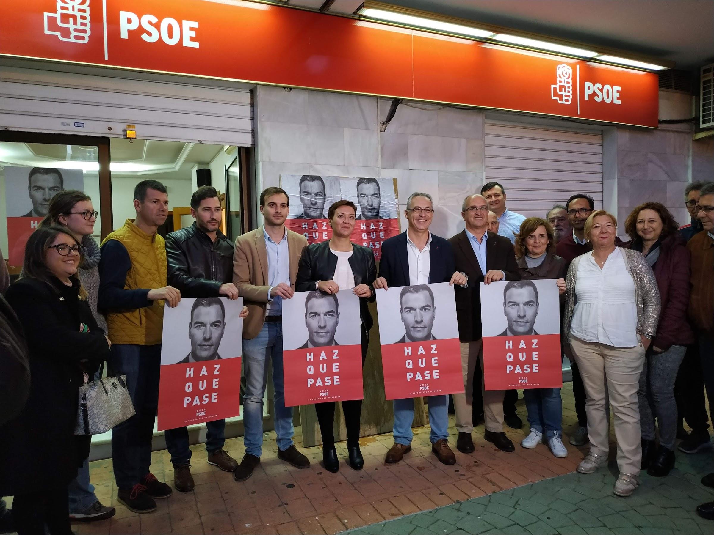 Lozano y Araujo llaman a la participación en la pegada simbólica de inicio de campaña por las generales