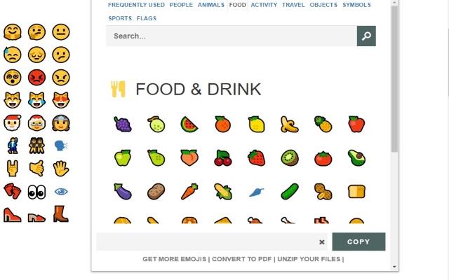 Emoji Keyboard for Google Chrome™