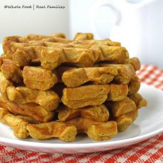 Pumpkin Whole Wheat Waffles