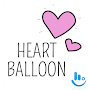 Heart Balloon TouchPal Boomtext - Creat GIF APK icon