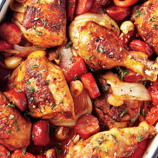Basque Roast Chicken
