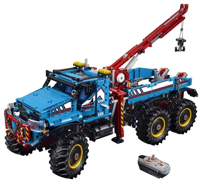 Contenido de Lego® 42070 Camión Grúa Todoterreno 6 x 6