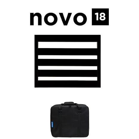 Pedaltrain Novo 18 Pedalboard with Soft Case