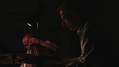 Photo: Guillaume Viltard and Steve Noble at Cafe Oto. Image Peter Bromley   #cafeoto   #peterbromley