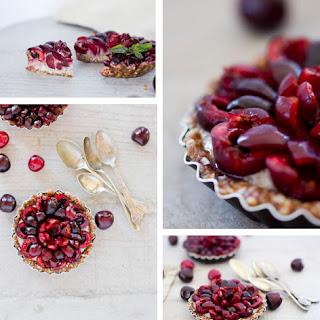 Cherry Chia Tarts