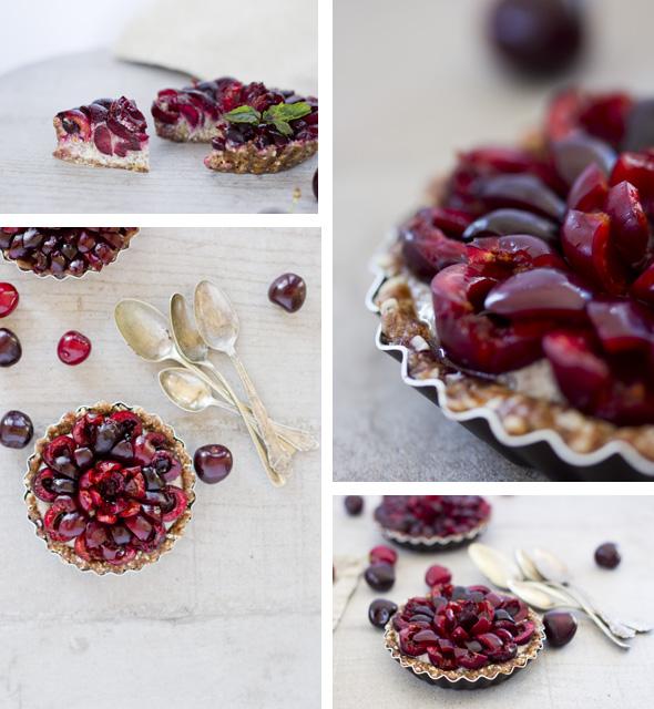 Cherry Chia Tarts Recipe